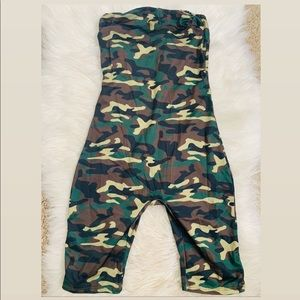 Last 1 Camouflage One Piece Jumpsuit